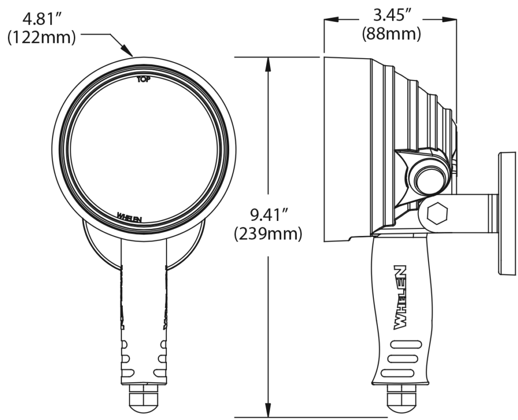 Whelen   White Illumination   PAR-36 and PAR-46Whelen